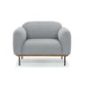 Benson chair light grey