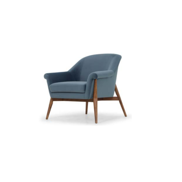 charlize chair dusty blue