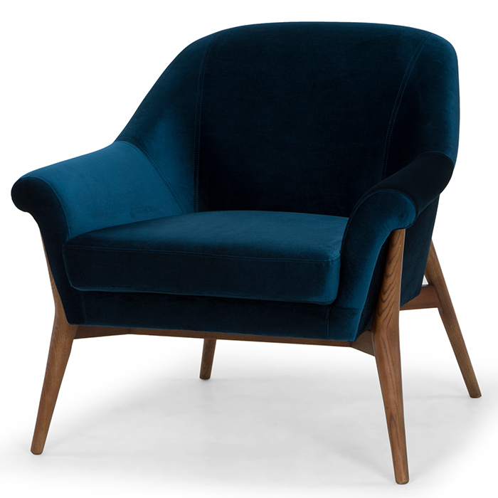 Charlize Accent Chair Mikaza Meubles Modernes Montreal