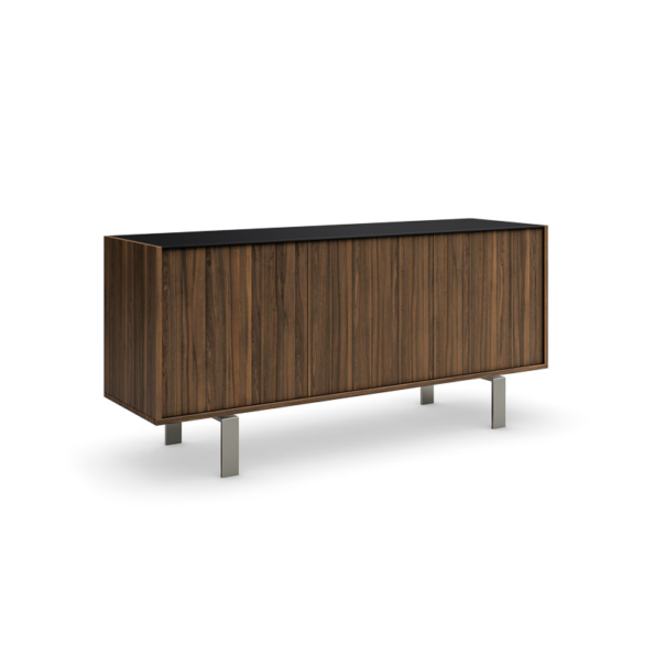 Elodi buffet (3 doors) with brushed nickel legs