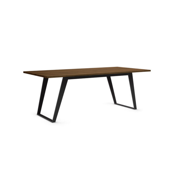 Pari table with black legs