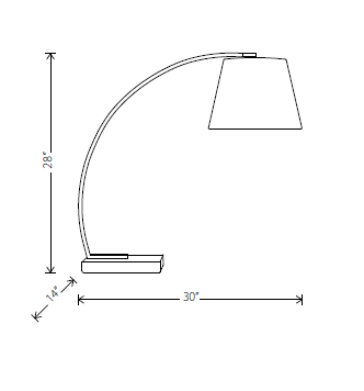 evan table lamp specs