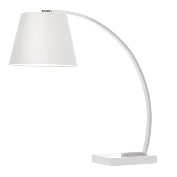 evan table lamp white