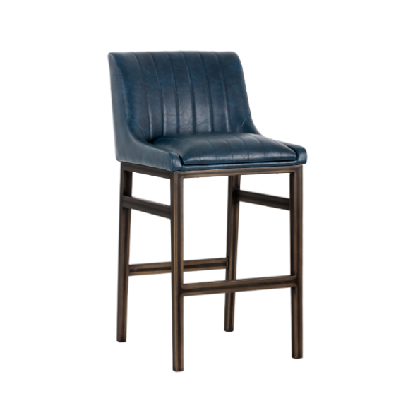 holden bar stool blue