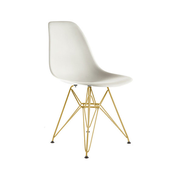 Eiffel Coloured Shell with Gold Legs