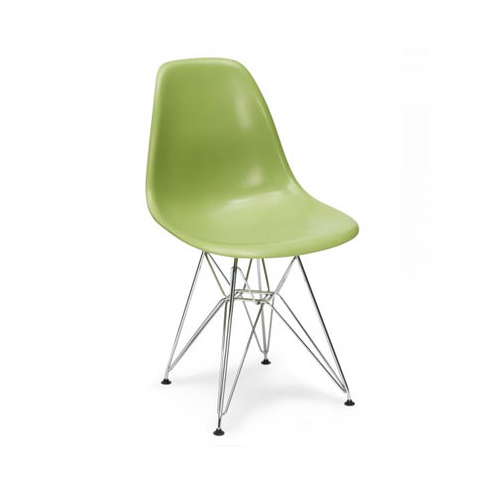 Eiffel Coloured Shell with Metal Legs