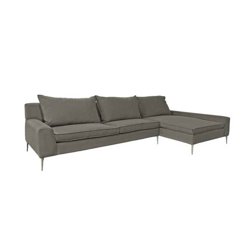 Messina sectional mikaza meubles modernes montreal for Sofa cuir liquidation montreal