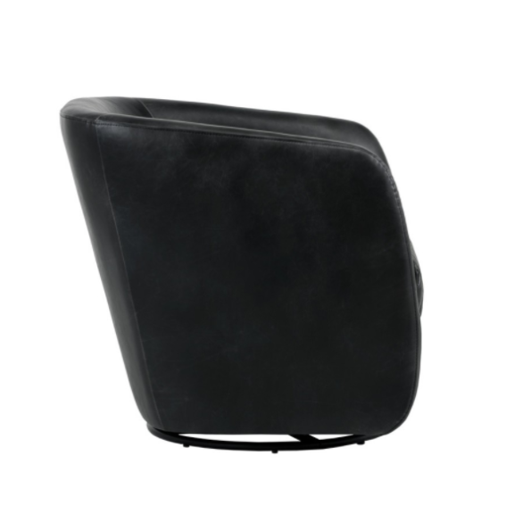 Winchester Accent Chair Black side
