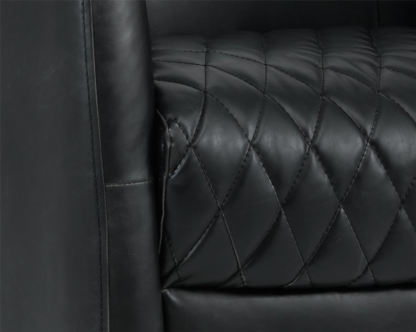 Winchester Accent Chair Black zoom