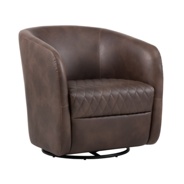 Winchester Accent Chair Brown
