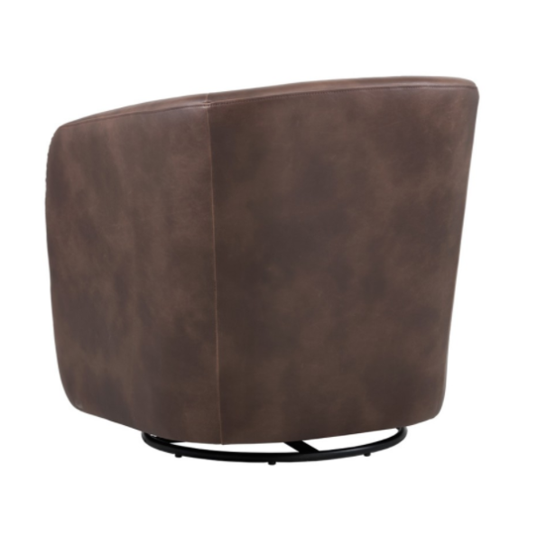 Winchester Accent Chair Brown back