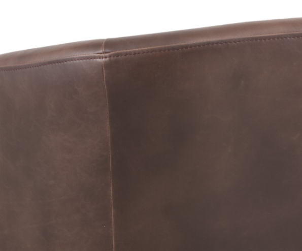 Winchester Accent Chair Brown zoom 1