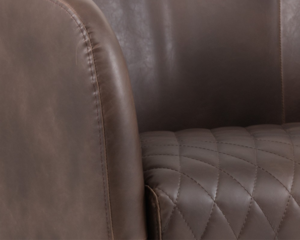 Winchester Accent Chair Brown zoom