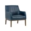 cardiffe blue accemt chair