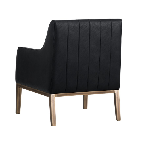 Holden Lounge Chair Black Back