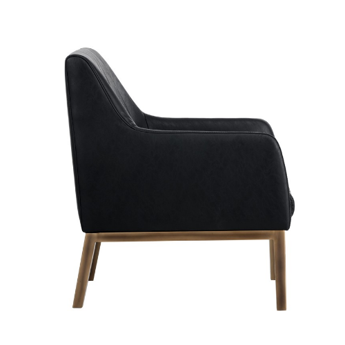Holden Lounge Chair Black Side