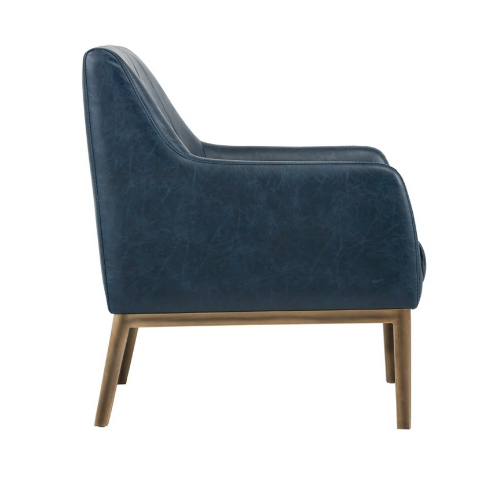 Holden Lounge Chair Blue Side