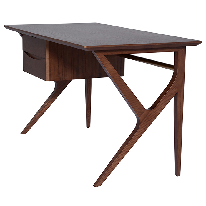 Karlo desk table mikaza meubles modernes montreal modern for Meuble lida montreal