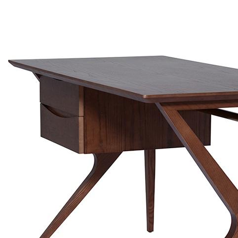 Karlo desk table mikaza meubles modernes montreal modern for Lida meuble liquidation