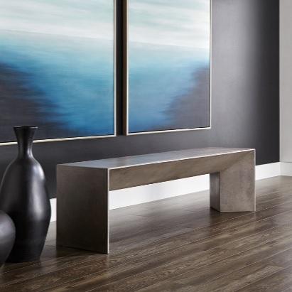 Numad banc en beton mikaza meubles modernes montreal modern furniture ottawa - Meubles exterieurs montreal ...