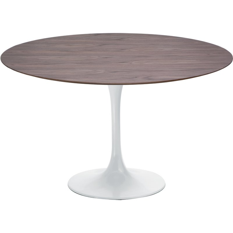 Walnut Tulip Dining Table Mikaza Meubles Modernes