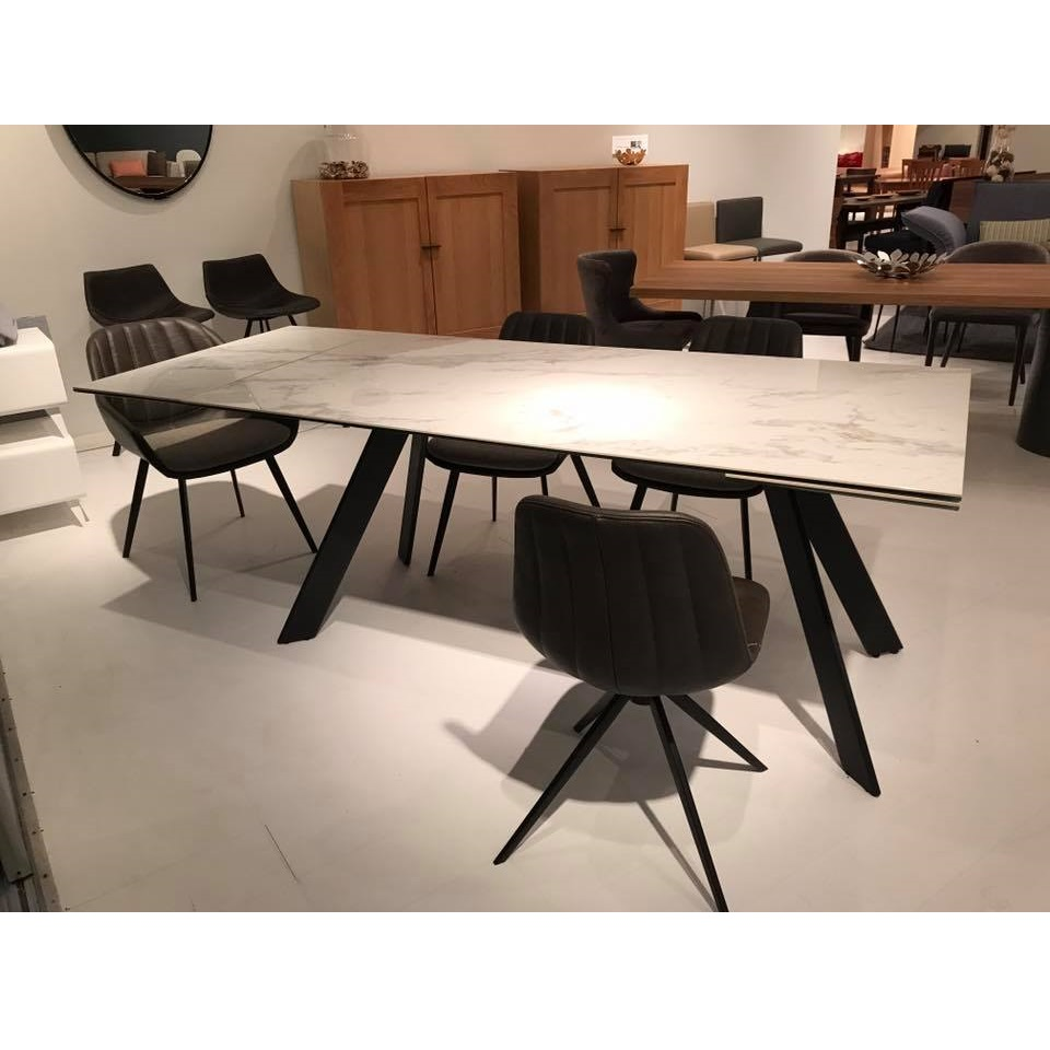 Oliver Dining Table Mikaza Meubles Modernes Montreal Modern Furniture Ottawa