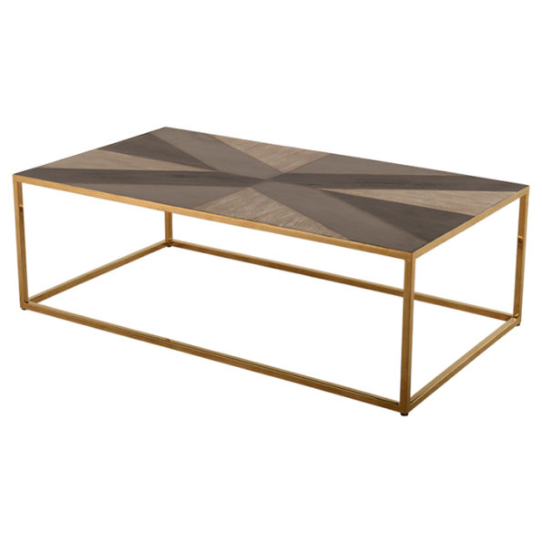 White Coffee Table Kijiji Montreal: Lattice Gold Base Coffee Table