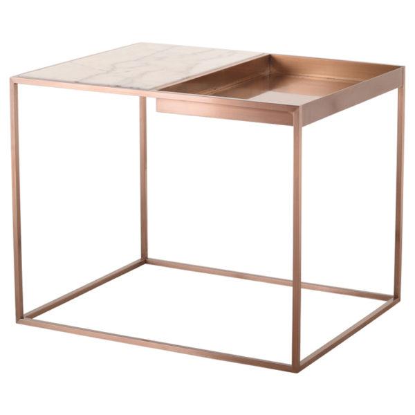 Corbett Side Table Floor