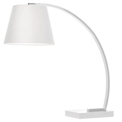 Evan White Table Lamp, floor model