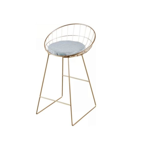 Kylie bar stool in gold