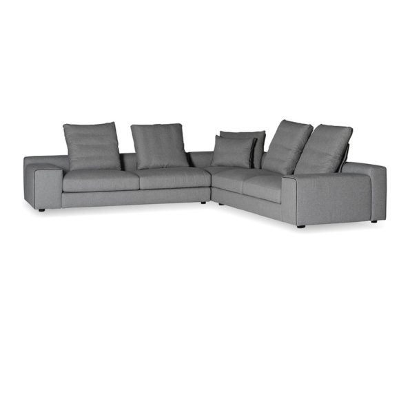 Flipout large sectional with adjustable back