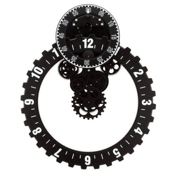 Industrial Oversized Gear clock