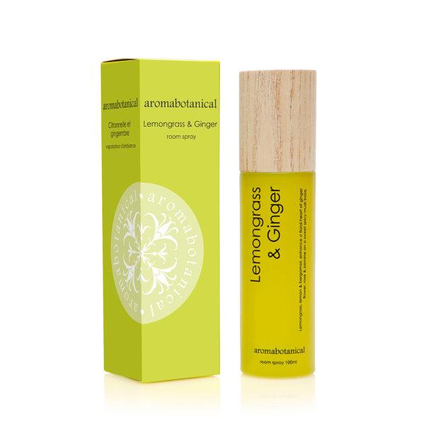 Lemongrass and Ginger Room spray