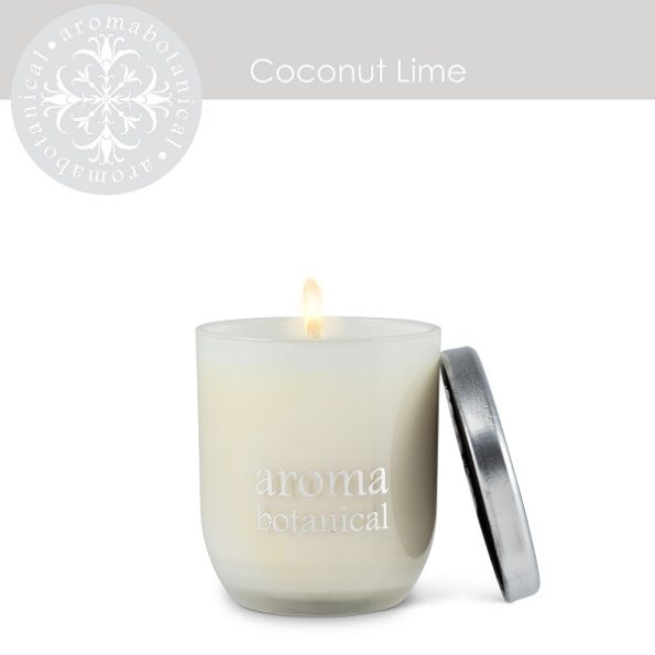 Small Coconut Lime Candle