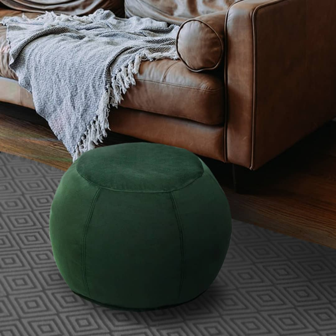 Ottomans and beanbags